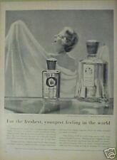 1954 English Lavender Bath Oil Yardley London Fragrance AD