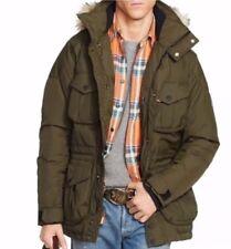 $695! NEW RLX Ralph Lauren Men's Ranger Down Feather Parka Jacket Coat Green M