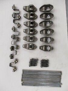 Jeep 4.0L 6 Cylinder Engine Rocker Arms Push Rods Set Cherokee Wrangler YJ TJ