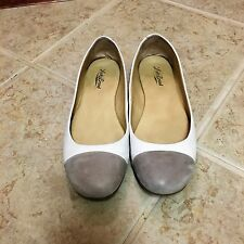 SHOES, LUCKY BRAND, SIXE 8M, TAN,FLATS, LEATHER UPPER
