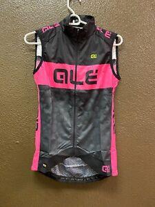 Alé Cycling PRR Wind Vest - Black/Pink - Women's XS-S