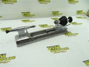 VINATGE PRECISION WATCHMAKERS JEWLERS LATHE W/ A LEVIN #48 COLLET