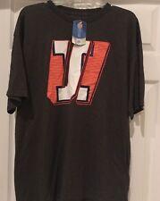 Illinois Fighting Illini NCAA Mens Gray Tee T Shirt Size XL XLarge NWT NEW