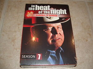 """In The Heat Of The Night"" Season 7 TV Show DVD Carroll O'Connor RARE *NEW*"