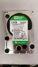"WD Caviar Green 2TB 3.5"" 7200 RPM Hard Drive WD20EADS-00R6B0 100% Health"