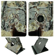 CAMO TAL DEER CASE SAMSUNG GALAXY NOTE PRO 12.2 360 ROTATING STAND TABLET COVER