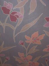 Vtg CHETLEY Fabric Screen Print Home Decor Light/Pastel Floral 14 Yds Bulk BTY