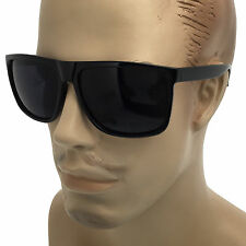 Mens Super Dark Lens Cholo Sunglasses Gangster Style Large OG Oversized Black