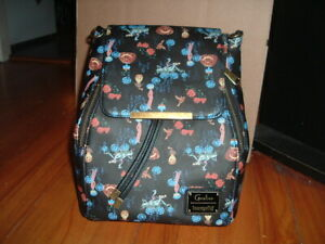 LOUNGEFLY CORALINE 2 IN 1 MINI BACKPACK/CROSSBODY BAG~ WITH TAGS~ BRAND NEW~