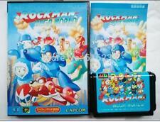 Rock Man Mega World Japanese for Sega MegaDrive Video Game system 16 bit MD card