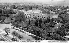 Garci Crespo Mexico Aerial View Real Photo Antique Postcard J54461