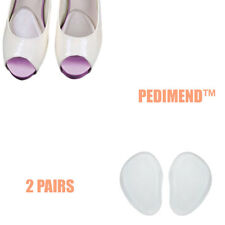 Pedimend™ 2 Pairs Gel Cushions Feet High Heel Comfort Insoles Pain Inserts Pads