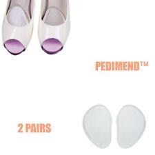 Pedimend™ 2 Pairs Gel Cushions Feet High Heel Comfort Insoles Pain Inserts Pads