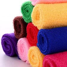 1pc 25*25cm 10 Stücke Baumwolle Hand Gesicht Auto Tuch Reinigungstücher Handtuch