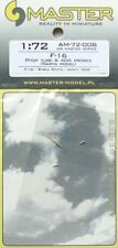 MASTER 1/72 f-16 Pitot Tube and Angle of Attack Probes # 72008