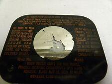 Vintage Antique GE General Electric Survival Emergency Signal Mirror (A5)