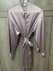 Vintage Victoria's Secret Pale Purple One Size Short Robe Kimono