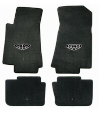 NEW! FLOOR MATS 2004 PONTIAC GTO CREST Embroidered Logo on both front mats Set 4