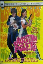 AUSTIN POWERS(1997) Mike Myers Elizabeth Hurley Robert Wagner Mimi Rogers SEALED