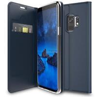 Handy Hülle Samsung Galaxy S9 Book Case Schutzhülle Tasche Slim Flip Cover