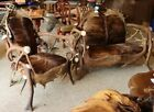 Elk & Moose Antler Chair & Sofa combination RARE