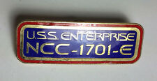 Star Trek:Enterprise NCC-1701-E Call Letters Cloisonne Pin-FREE S&H (TRK-1034-R)