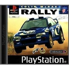 PS1 / Sony Playstation 1 Spiel - Colin McRae Rally mit OVP OVP beschädigt