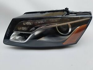 2009-2012 Audi Q5 Headlight Left Side Driver HID Xenon OEM Headlamp