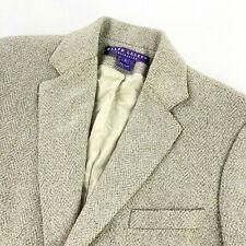 Ralph Lauren Purple Label Women's Wool/Cashmere Metallic Silver Blazer/Jacket 8