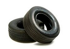 Tamiya R/C 2 x Tractor Truck Tyres (Hard/30mm) # 56528