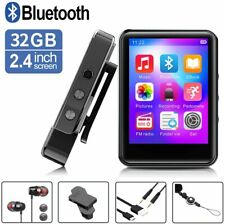 MP3 Player with Bluetooth, 32GB Portable Music Player with FM Radio/Recorder, Hi