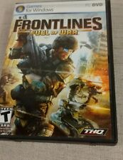 FRONTLINES FUEL OF WAR PC Discs Manual Art And Case Nrmnt Has Installation Code