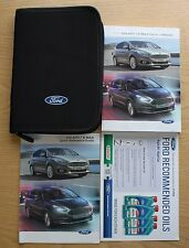 FORD Galaxy S-MAX Manuale Proprietari Manuale Wallet Navi AUDIO 2015-2017 Pack 10413