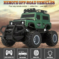 Remote Control Rock Crawler Radio RC Car Rechargeable Off Road Toy Monster Truck