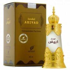 Sandal Abiyad 20ML By Afnan Concentrated Perfume Oil Oud, Sandalwood, Rose, Musk