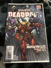 DEADPOOL #8! 2nd PRINT VARIANT EDITION! DARK REIGN! 2009 MARVEL COMICS