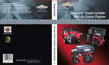Briggs and Stratton Vanguard Single Cylinder factory repair manual on CD 272147