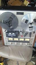 Akai 202D-SS 4-channel Reel To Reel Recorder  Original Reels / DustCover,works