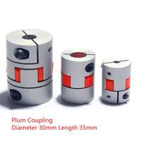 5-15mm D30L35 Flexible Jaw Coupler CNC Shaft Spider Stepper Motor Plum Coupling