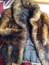 Foxy Lady Wolfy Vera Pelliccia Giacca INSIDEOUT teddybear Fleece: Medium