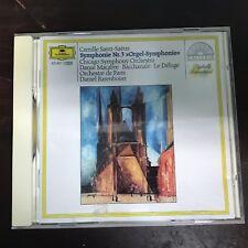 "CAMILLE SAINT-SAËNS SYMPHONY 3 ""ORGAN"" CHICAGO SYMPHONY ORCHESTRA CD"