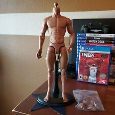 1/6 Muscular Body Male Figure: Has Custom Weathering Around Wrists & Arms