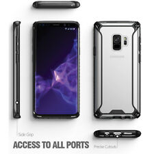 POETIC Shockproof Case Affinity Transparent TPU Cover For Samsung Galaxy S9 BLK