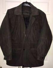 Nankai Men's Large XL Jacket Coat Brown 48 50 City Korea XL Dacron Zip Out Liner