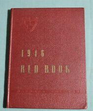 CLASS OF 1946 HARVARD COLLEGE FRESHMAN RED BOOK YEARBOOK as of 1943