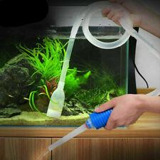 Aquarium Cleaning Vacuum Water Change Cleaner Fish Tank Siphon Pump Filter Tool