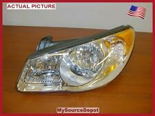 OEM,2007,2008,2009,2010,HYUNDAI ELANTRA,LEFT FRONT HEADLIGHT, WITH BULBS,HALOGEN
