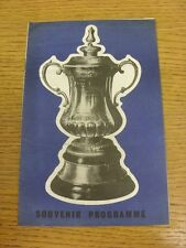 25/01/1969 Sheffield Wednesday v Birmingham City [FA Cup] [Pirate By: Unknown Pu