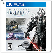 3 IN 1 PS4 Final Fantasy XIV Online The Complete Edition FF SONY Enix RPG Games