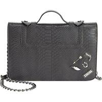 Circus by Sam Edelman Clive Pin Embellished Black Crossbody Handbag